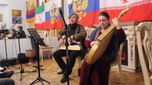 Николай и Елена Вяткины, ГУСЛИ И БАНДУРА